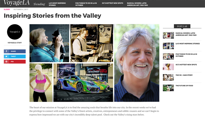 Voyage LA Magazine talks to  Social Media Toolworks